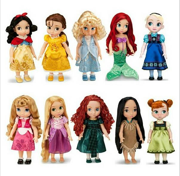 2014 new style rapunzel princess animators collection 16 inch doll original box figure tangled gift for