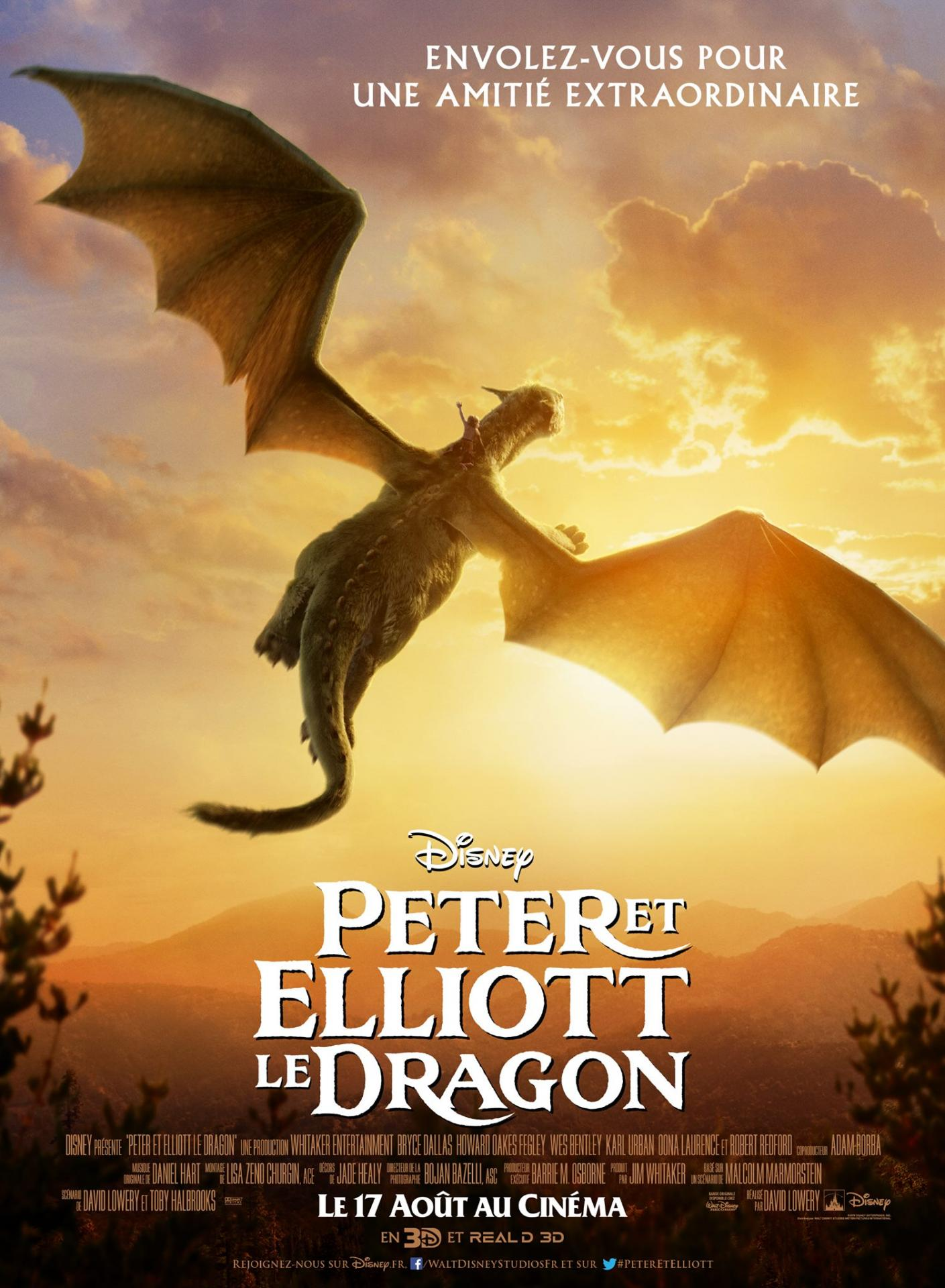 Affiche francaise peter elliott dragon film 2016 03