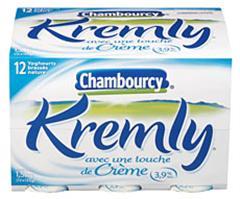 Chambourcy yaourts