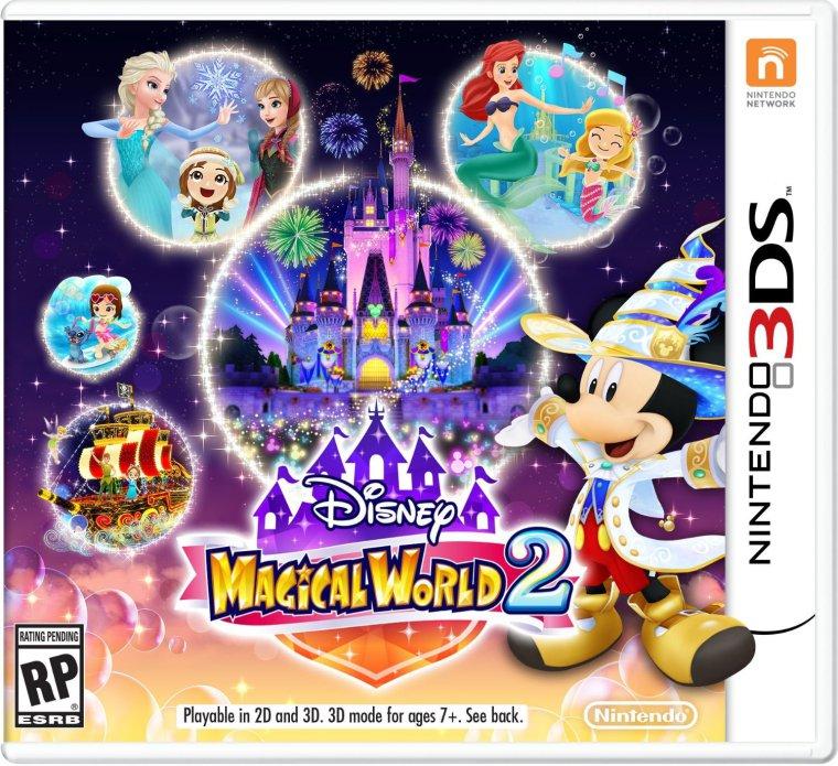 Disney magical world 2 box art