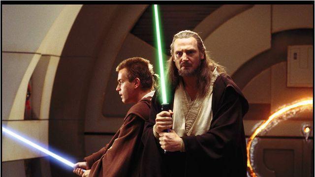 Ewan mcgregor et liam neeson ont marque la saga star wars et leurs fameux sabres lumineux 876178