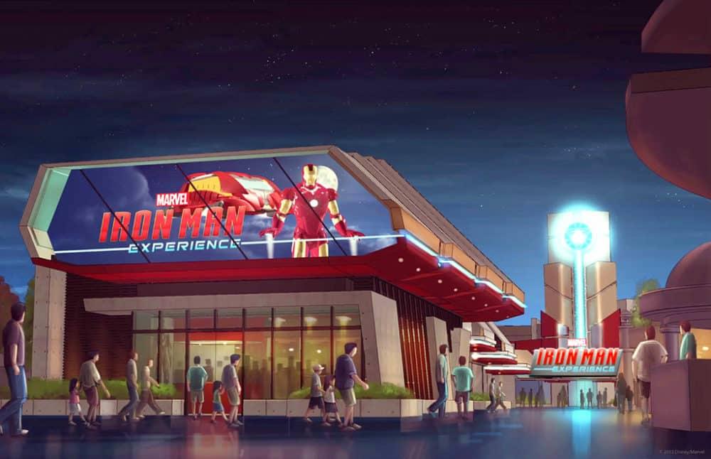Iron man experience hong kong disneyland concept art 01