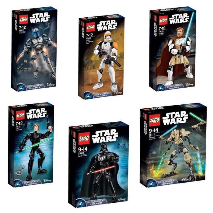Lego r stars wars trilogy pack grandes figurines