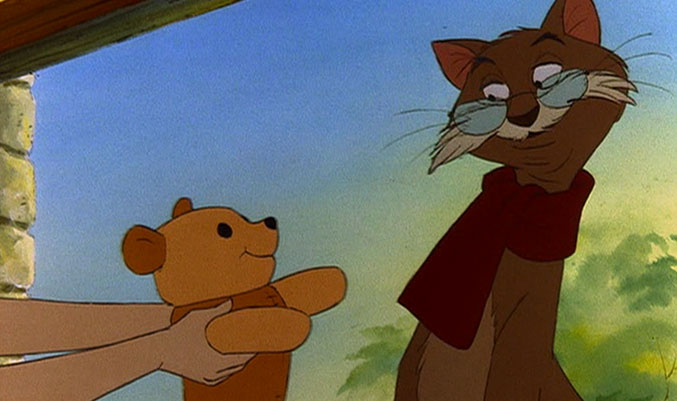 Rufus from the rescuers