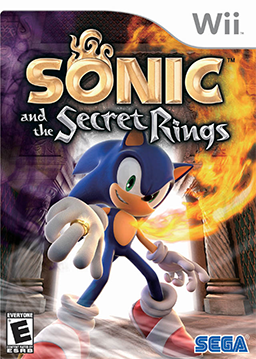 Sonic and the secret rings coverart