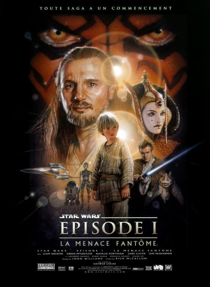 Star wars episode i la menace fantome affiche 4f4b763801e07