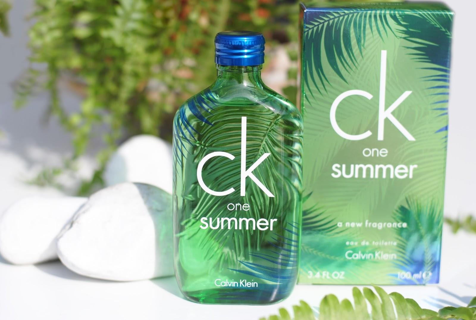 Vignette ck one summer 2016